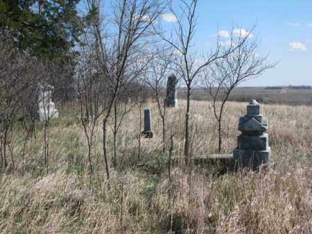*SUMMIT GROVE, VIEW TO SOUTH - Dodge County, Nebraska | VIEW TO SOUTH *SUMMIT GROVE - Nebraska Gravestone Photos
