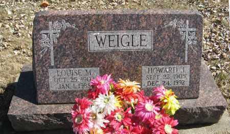 WEIGLE, HOWARD J. - Dodge County, Nebraska   HOWARD J. WEIGLE - Nebraska Gravestone Photos