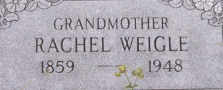 WEIGLE, RACHEL - Dodge County, Nebraska | RACHEL WEIGLE - Nebraska Gravestone Photos