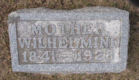 WERBLOW, WILHELMINE - Dodge County, Nebraska | WILHELMINE WERBLOW - Nebraska Gravestone Photos