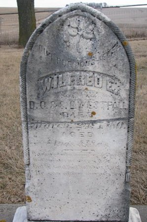 WESTFALL, WILFRED E. - Dodge County, Nebraska | WILFRED E. WESTFALL - Nebraska Gravestone Photos