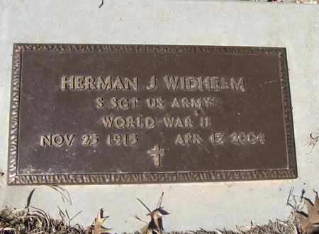 WIDHELM, HERMAN J. - Dodge County, Nebraska | HERMAN J. WIDHELM - Nebraska Gravestone Photos