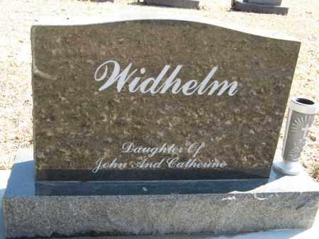 WIDHELM, SISTER MARIE (BACK OF STONE) - Dodge County, Nebraska | SISTER MARIE (BACK OF STONE) WIDHELM - Nebraska Gravestone Photos