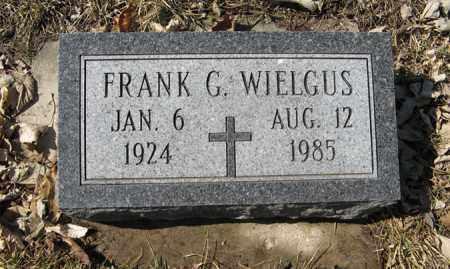 WIELGUS, FRANK G. - Dodge County, Nebraska | FRANK G. WIELGUS - Nebraska Gravestone Photos