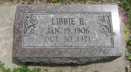 WINKELMAN, LIBBIE B. - Dodge County, Nebraska   LIBBIE B. WINKELMAN - Nebraska Gravestone Photos