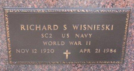 WISNIESKI, RICHARD S. (MILITARY) - Dodge County, Nebraska | RICHARD S. (MILITARY) WISNIESKI - Nebraska Gravestone Photos