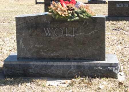 WOLF, FAMILY - Dodge County, Nebraska | FAMILY WOLF - Nebraska Gravestone Photos