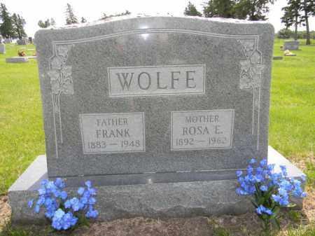 WOLFE, ROSA - Dodge County, Nebraska | ROSA WOLFE - Nebraska Gravestone Photos