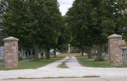 *WOODLAND CEMETERY, ENTRANCE - Dodge County, Nebraska | ENTRANCE *WOODLAND CEMETERY - Nebraska Gravestone Photos