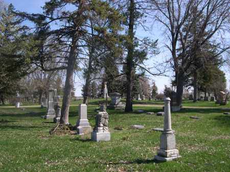 *WOODLAND CEMETERY, OVERVIEW OF - Dodge County, Nebraska   OVERVIEW OF *WOODLAND CEMETERY - Nebraska Gravestone Photos