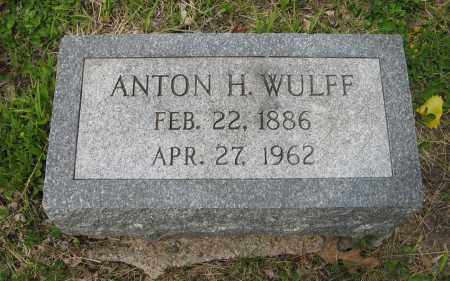 WULFF, ANTON H. - Dodge County, Nebraska | ANTON H. WULFF - Nebraska Gravestone Photos
