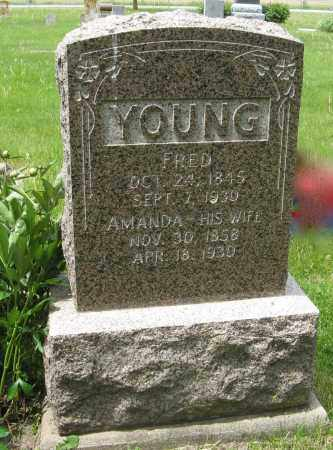 YOUNG, AMANDA - Dodge County, Nebraska | AMANDA YOUNG - Nebraska Gravestone Photos