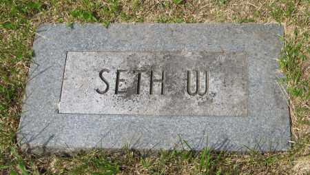 YOUNG, SETH W. - Dodge County, Nebraska | SETH W. YOUNG - Nebraska Gravestone Photos