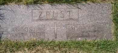 ZRUST, MICHAEL - Dodge County, Nebraska | MICHAEL ZRUST - Nebraska Gravestone Photos