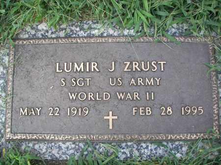 ZRUST, LUMIR J - Dodge County, Nebraska | LUMIR J ZRUST - Nebraska Gravestone Photos