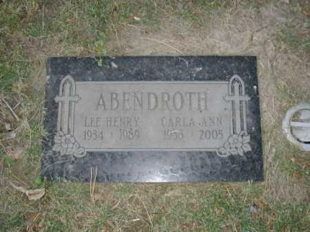 ABENDROTH, CARLA ANN - Douglas County, Nebraska | CARLA ANN ABENDROTH - Nebraska Gravestone Photos
