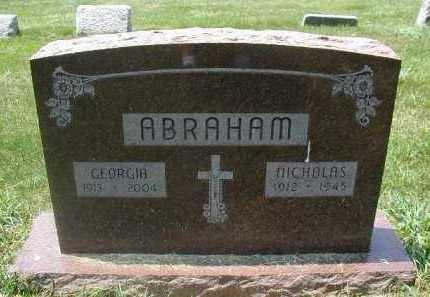ABRAHAM, NICHOLAS - Douglas County, Nebraska | NICHOLAS ABRAHAM - Nebraska Gravestone Photos