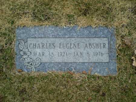 ABSHER, CHARLES EUGENE - Douglas County, Nebraska | CHARLES EUGENE ABSHER - Nebraska Gravestone Photos