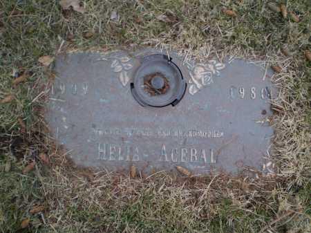 ACEBAL, HELIA - Douglas County, Nebraska | HELIA ACEBAL - Nebraska Gravestone Photos