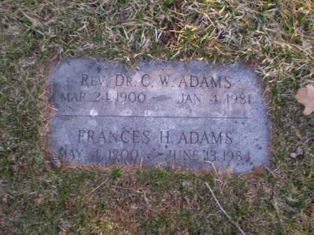 ADAMS, CLARENCE W. - Douglas County, Nebraska   CLARENCE W. ADAMS - Nebraska Gravestone Photos