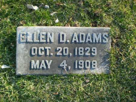 ADAMS, ELLEN - Douglas County, Nebraska | ELLEN ADAMS - Nebraska Gravestone Photos