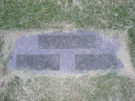 ADAMS, MARY - Douglas County, Nebraska   MARY ADAMS - Nebraska Gravestone Photos