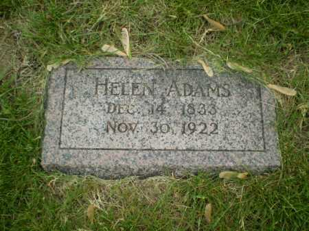 ADAMS, HELEN - Douglas County, Nebraska | HELEN ADAMS - Nebraska Gravestone Photos