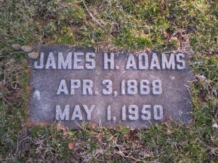 ADAMS, JAMES H. - Douglas County, Nebraska   JAMES H. ADAMS - Nebraska Gravestone Photos