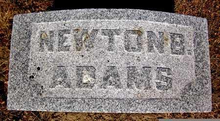 ADAMS, NEWTON - Douglas County, Nebraska   NEWTON ADAMS - Nebraska Gravestone Photos