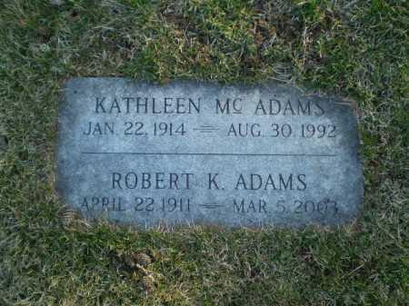 ADAMS, ROBERT KENNETH - Douglas County, Nebraska | ROBERT KENNETH ADAMS - Nebraska Gravestone Photos