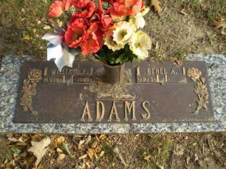 ADAMS, WILLIAM E - Douglas County, Nebraska | WILLIAM E ADAMS - Nebraska Gravestone Photos