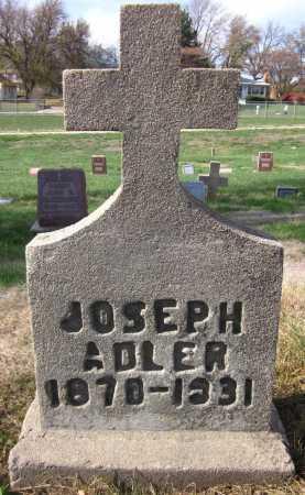 ADLER, JOSEPH - Douglas County, Nebraska | JOSEPH ADLER - Nebraska Gravestone Photos