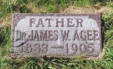 AGEE, DR. JAMES W. - Douglas County, Nebraska | DR. JAMES W. AGEE - Nebraska Gravestone Photos