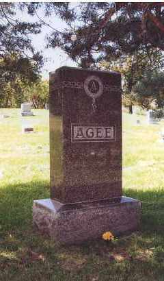 AGEE, FAMILY - Douglas County, Nebraska   FAMILY AGEE - Nebraska Gravestone Photos