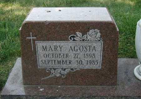 AGOSTA, MARY - Douglas County, Nebraska | MARY AGOSTA - Nebraska Gravestone Photos
