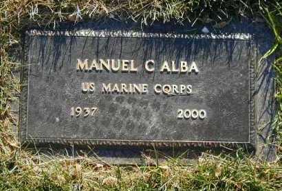 ALBA, MANUEL C. - Douglas County, Nebraska | MANUEL C. ALBA - Nebraska Gravestone Photos