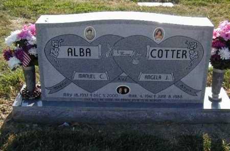 ALBA, MANUEL C. - Douglas County, Nebraska   MANUEL C. ALBA - Nebraska Gravestone Photos