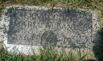 ALBANESE, GIOVACCHINA MARIA - Douglas County, Nebraska   GIOVACCHINA MARIA ALBANESE - Nebraska Gravestone Photos