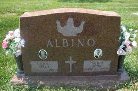 ALBINO, NELLIE - Douglas County, Nebraska | NELLIE ALBINO - Nebraska Gravestone Photos