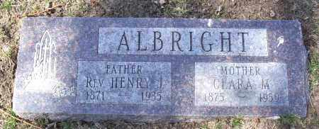 ALBRIGHT, HENRY - Douglas County, Nebraska | HENRY ALBRIGHT - Nebraska Gravestone Photos