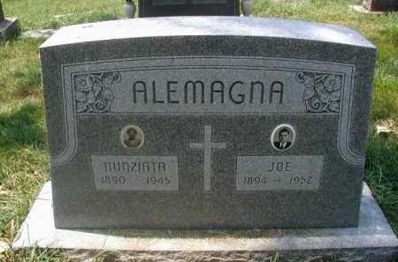 ALEMAGNA, NUNZIATA - Douglas County, Nebraska | NUNZIATA ALEMAGNA - Nebraska Gravestone Photos