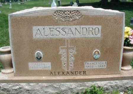 ALESSANDRO, FRANCESCA I - Douglas County, Nebraska   FRANCESCA I ALESSANDRO - Nebraska Gravestone Photos
