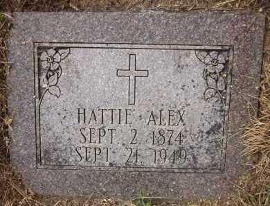 ALEX, HATTIE - Douglas County, Nebraska | HATTIE ALEX - Nebraska Gravestone Photos