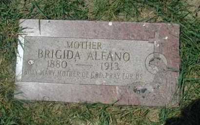 ALFANO, BRIGIDA - Douglas County, Nebraska   BRIGIDA ALFANO - Nebraska Gravestone Photos