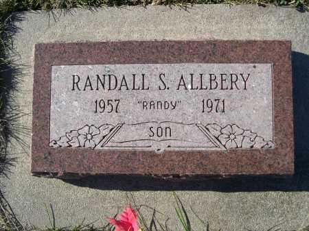 ALLBERY, RANDALL S. - Douglas County, Nebraska | RANDALL S. ALLBERY - Nebraska Gravestone Photos