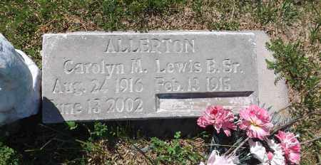 ALLERTON, CAROLYN M. - Douglas County, Nebraska | CAROLYN M. ALLERTON - Nebraska Gravestone Photos