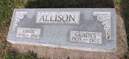ALLISON, GLADYS - Douglas County, Nebraska | GLADYS ALLISON - Nebraska Gravestone Photos