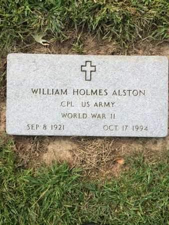ALSTON, WILLIAM - Douglas County, Nebraska | WILLIAM ALSTON - Nebraska Gravestone Photos