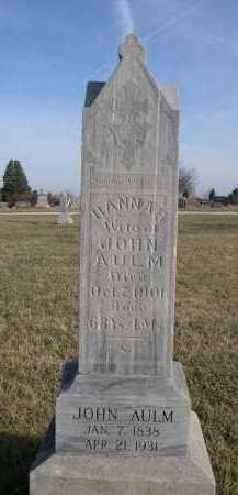 ALUM, JOHN - Douglas County, Nebraska | JOHN ALUM - Nebraska Gravestone Photos