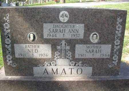 AMATO, SARAH ANN - Douglas County, Nebraska | SARAH ANN AMATO - Nebraska Gravestone Photos